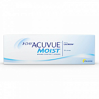 1-Day Acuvue Moist with LACREON (подарочная)